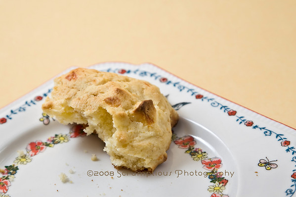 scone inside closeup
