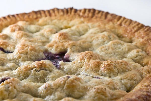 close up of pie