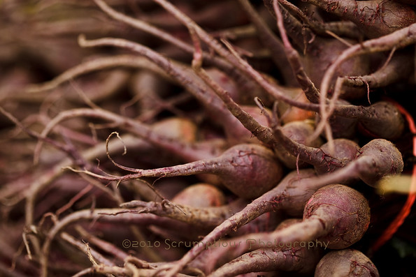 long purple root vegetable